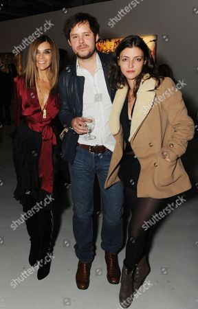Stock Photo of Carine Roitfeld, Nicolas Pol and guest