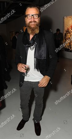 Editorial picture of Vladimir Restoin Roitfeld opens Nicolas Pol exhibition, The Old Dairy, London, Britain - 14 Oct 2010