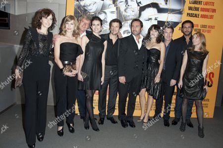 Valerie Bonneton, Pascale Arbillot, Louise Monot, Guillaume Canet, Gilles Lellouche, Marion Cotillard, Francois Cluzet and Anne Marivin