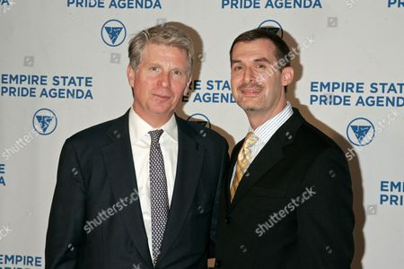 Stock Photo of Cyrus Vance Jr, and Ross Levi