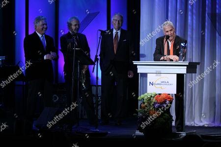 Steve Tyrell, Herb Alpert, Jerry Moss and Burt Bacharach