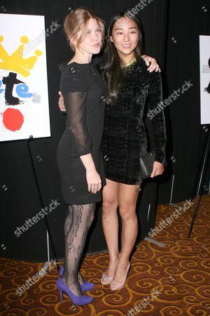 Lisa Joyce and Greta Lee