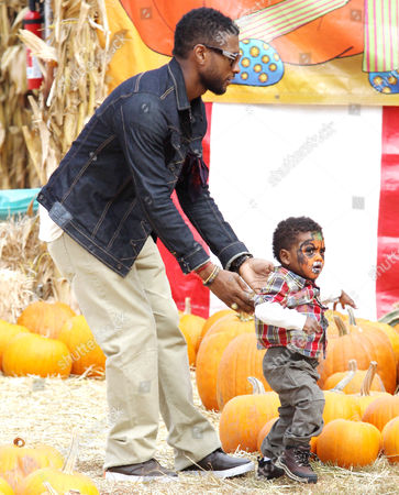 Usher and Naviyd Ely Raymond