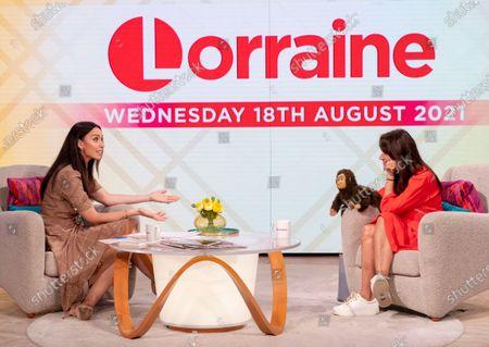 Editorial photo of 'Lorraine' TV show, London, UK - 18 Aug 2021