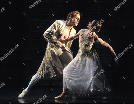 Leanne Benjamin and Edward Watson