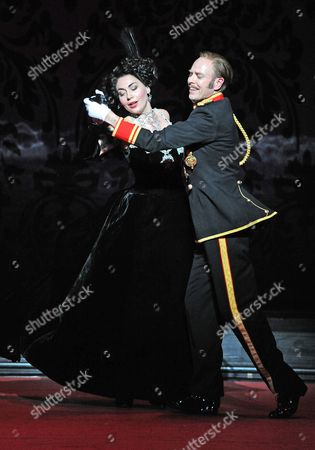 Editorial picture of The Merry Widow performed by Opera North, The Grand Theatre, Leeds, Britain - 15 Oct 2010