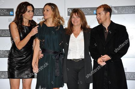 Editorial image of 'Conviction' film photocall, 54th BFI London Film Festival, London, Britain - 15 Oct 2010