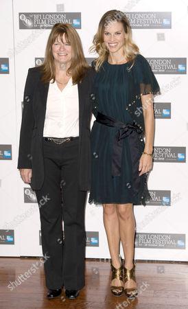 Editorial picture of 'Conviction' film photocall, 54th BFI London Film Festival, London, Britain - 15 Oct 2010