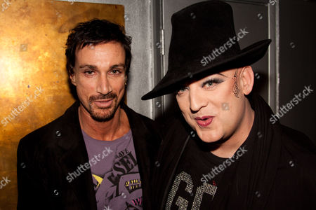 Stuart Phillips and Boy George