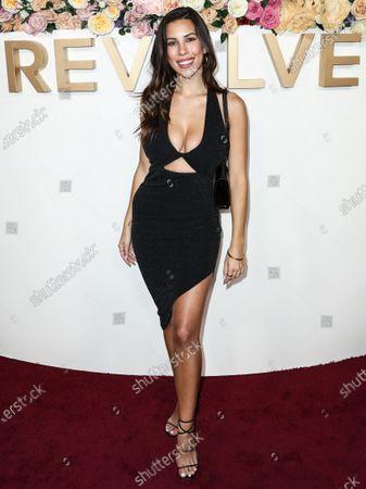 Editorial image of Revolve Awards, Arrivals, Goya Studios, Los Angeles, California, USA - 15 Nov 2019