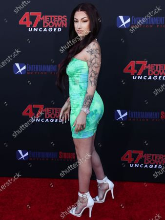 Editorial image of Los Angeles Premiere Of Entertainment Studios' '47 Meters Down Uncaged', Westwood, United States - 13 Aug 2019