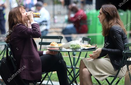 Editorial image of 'She Said' on set filming, New York, USA - 17 Aug 2021