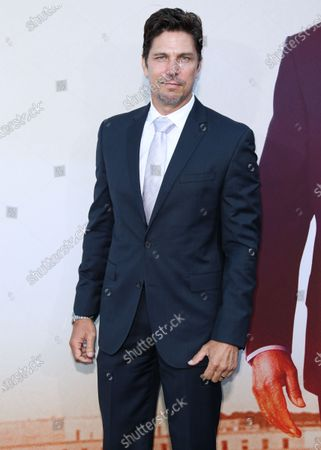 Actor Michael Trucco arrives at the Los Angeles Premiere Of Lionsgate's 'Angel Has Fallen' held at the Regency Village Theatre on August 20, 2019 in Westwood, Los Angeles, California, United States.