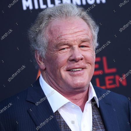 Stock Photo of Actor Nick Nolte arrives at the Los Angeles Premiere Of Lionsgate's 'Angel Has Fallen' held at the Regency Village Theatre on August 20, 2019 in Westwood, Los Angeles, California, United States.