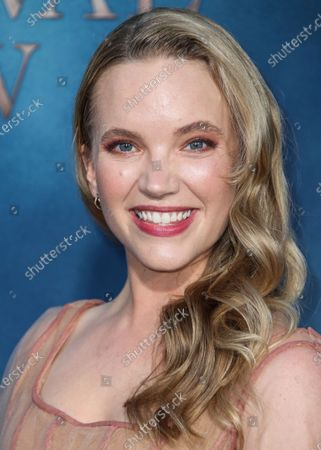 Tamzin Merchant arrives at the Los Angeles Premiere Of Amazon's 'Carnival Row' held at the TCL Chinese Theatre IMAX on August 21, 2019 in Hollywood, Los Angeles, California, United States.