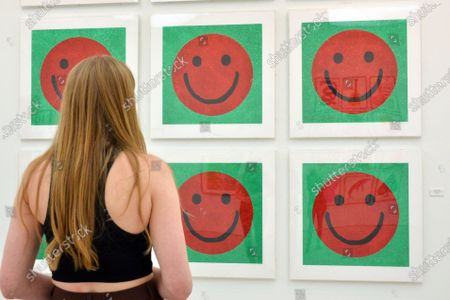 Stock Picture of Jake & Dinos Chapman, D'you Wanna Be In My Gang, 2020 at Right Here Right Now private view