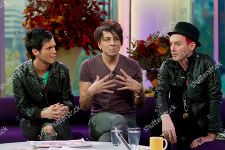 X Factor evictees Diva Fever (Craig Saggers and Josef Al Smad) and Storm Lee