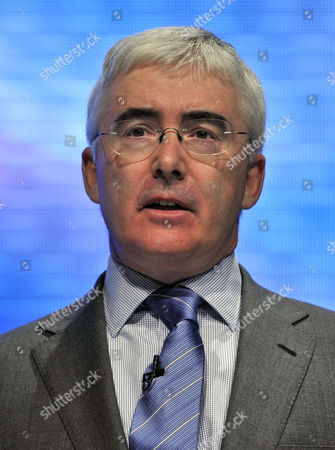 Conservative Minister David Freud. Conservative Annual Party Conference '09 At Manchester Central Convention Centre.