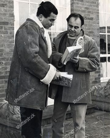 Editorial picture of Prince Aly Khan Is Seen Talking To Sir Evelyn Robert De Rothschild At Newmarket. Prince Ali Solomone Aga Khan The Son Of The Aga Khan Iii And The Father Of Aga Khan Iv He Died 12/5/1960 At The Age Of 49.