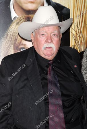 """Stock Image of WIlford Brimley arrives for the Premiere of """"Did You Hear About The Morgans?"""" at the Ziegfeld Theater in New York on December 14, 2009."""