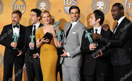 Editorial image of Screen Actors Guild Awards, Los Angeles, California, United States - 24 Jan 2010