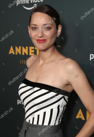 """Marion Cotillard attends Amazon Studios """"Annette"""" Los Angeles Premiere on Wed Aug 18, 2021 in Los Angeles."""