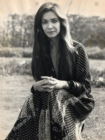 Anna Gael Actress And Model (countess Of Weymouth) Seen In The Gardens Of Her Home Longleat House As She Films The Leading Role In 'the Carry Cot'. Oliver Reed Also Stars In The Film.