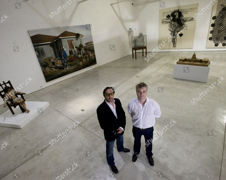 Editorial photo of All Visual Arts Gallery, Omega Place, London, Britain - 07 Oct 2010