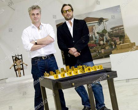 Stock Picture of Mark Sanders and Joseph La Placa