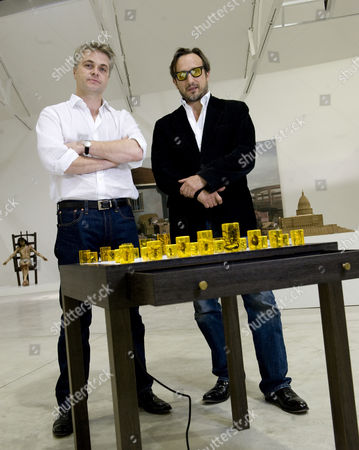 Stock Image of Mark Sanders and Joseph La Placa