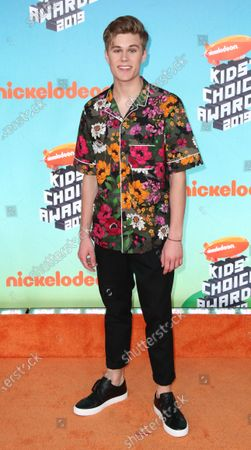 Editorial image of 2019 Kids' Choice Awards - Arrivals, Los Angeles, USA - 23 Mar 2019