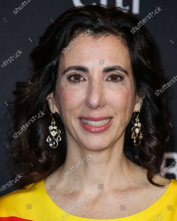 Screenwriter Aline Brosh McKenna wearing Moschino arrives at the 2019 PaleyFest LA - The CW's 'Jane The Virgin' and 'Crazy Ex-Girlfriend: The Farewell Seasons' held at the Dolby Theatre on March 20, 2019 in Hollywood, Los Angeles, California, United States.
