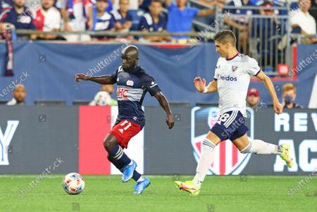 Editorial photo of MLS DC United vs Revolution, Foxborough, USA - 18 Aug 2021