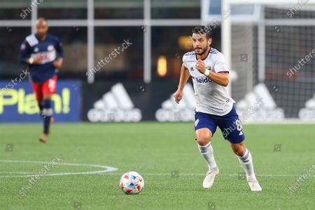 Stock Picture of Foxborough, MA, USA; D.C. United midfielder Felipe Martins (8) in action during an MLS match between D.C. United and New England Revolution at Gillette Stadium