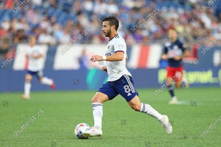 Editorial picture of MLS DC United vs Revolution, Foxborough, USA - 18 Aug 2021