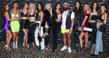 Dan Bilzerian arrives at the Fashion Nova x Cardi B Collection Launch Party held at the Hollywood Palladium on May 8, 2019 in Hollywood, Los Angeles, California, United States.
