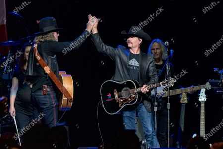 Editorial photo of Volunteer Jam: A Musical Salute To Charlie Daniels at Bridgestone Arena, Nashville, Tennessee, USA - 18 Aug 2021