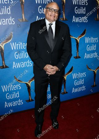 Comedian Larry Wilmore arrives at the 2019 Writers Guild Awards L.A. Ceremony held at The Beverly Hilton Hotel on February 17, 2019 in Beverly Hills, Los Angeles, California, United States.