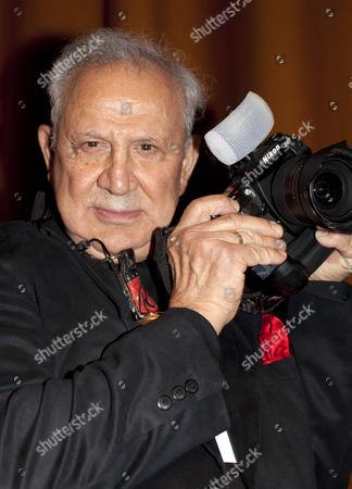 Legendary American celebrity photographer Ron Galella at the London Film Festival
