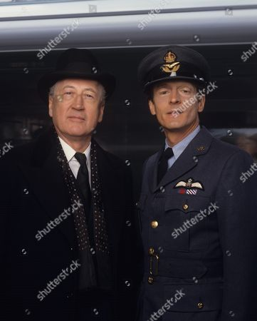 Stock Picture of Bernard Hepton and Nigel Havers