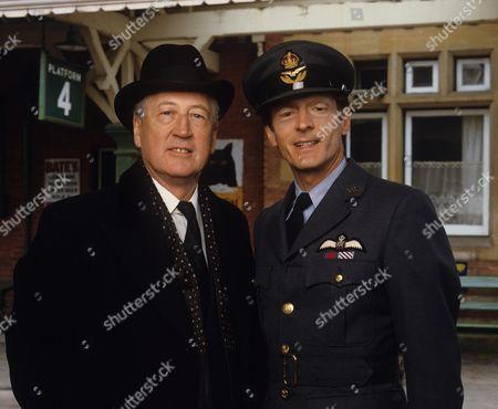 Stock Photo of Bernard Hepton and Nigel Havers