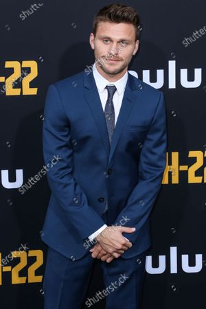 Stock Photo of Jon Rudnitsky arrives at the Los Angeles Premiere Of Hulu's 'Catch-22' held at the TCL Chinese Theatre IMAX on May 7, 2019 in Hollywood, Los Angeles, California, United States.