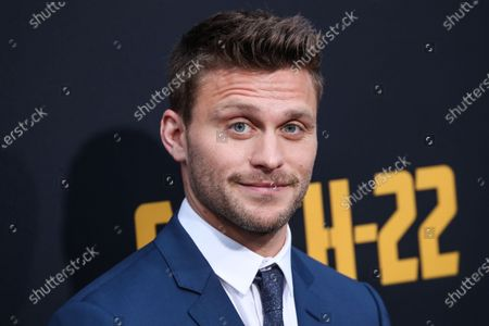 Stock Image of Jon Rudnitsky arrives at the Los Angeles Premiere Of Hulu's 'Catch-22' held at the TCL Chinese Theatre IMAX on May 7, 2019 in Hollywood, Los Angeles, California, United States.