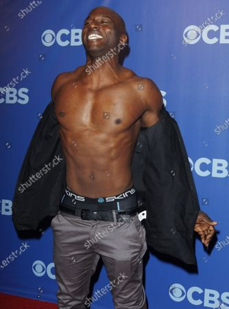 James Clement arrives at the 2010 CBS Up Front at Lincoln Center in New York City on May 19, 2010..
