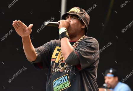 Stock Picture of EPMD perform at the NYC Homecoming concert at Forest Hills Stadium in Queens, New York City.