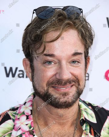 Actor Sam Pancake arrives at the 2021 Outfest Los Angeles LGBTQ Film Festival Screening Of 'The Sixth Reel' held at the Directors Guild of America on August 19, 2021 in Los Angeles, California, United States.