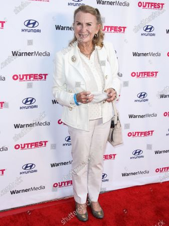 Actress Juliet Mills arrives at the 2021 Outfest Los Angeles LGBTQ Film Festival Screening Of 'The Sixth Reel' held at the Directors Guild of America on August 19, 2021 in Los Angeles, California, United States.