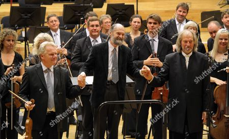 Editorial photo of The BBC National Orchestra of Wales perform work by Arvo Part, at Hoddinott Hall, Wales Milliennium Centre, Wales, Britain - 09 Sep 2010