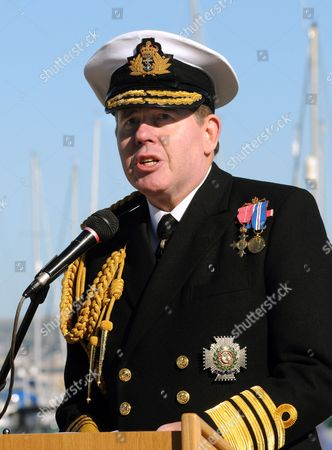First Sea Lord Admiral Sir Mark Stanhope