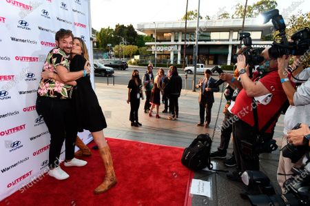 Editorial photo of The Sixth Reel World Premiere at Outfest LA 2021, Los Angeles, United States - 19 Aug 2021